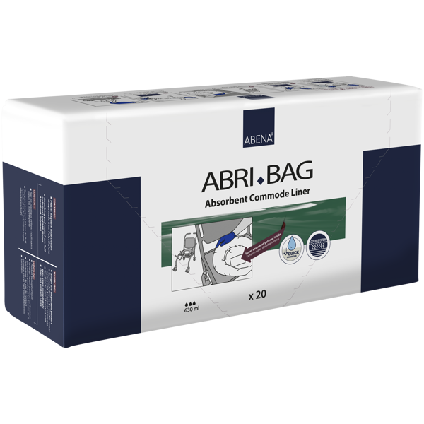 Picture of Abri-Bag Absorbent Commode Liner